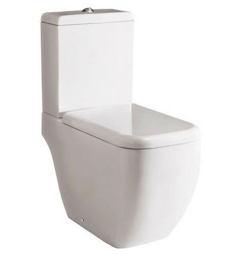 RAK Metropolitan Deluxe Close Coupled WC With Standard Toilet Seat 620mm